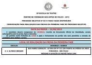 DATA DA PROVA – 15/06/2013 LOCAL DE ... - Instituto Mais