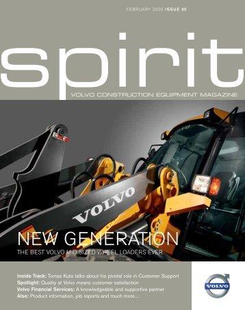 Spirit 30 - Volvo Construction Equipment