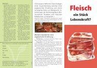 Fleisch - Schweizerische Vereinigung für Vegetarismus