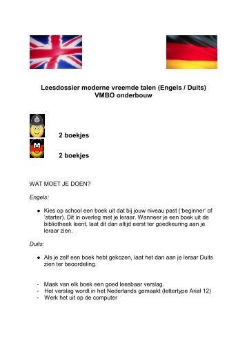 Boekverslag onderbouw - St. Jorisschool Nijmegen