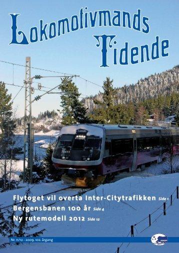 Hele bladet i pdf-format - Norsk Lokomotivmannsforbund