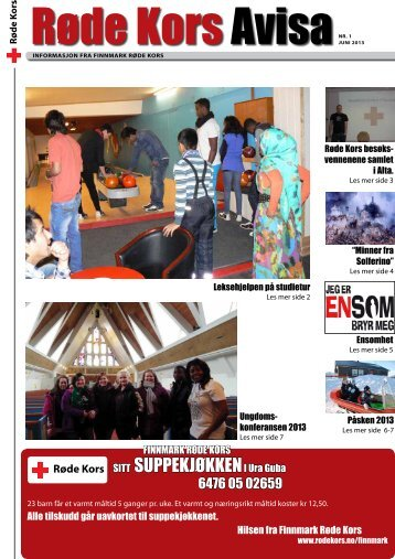Røde Kors avisa nr. 1/2013