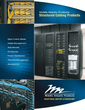 Structured Cabling Products - Middle Atlantic
