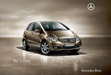 The A - Class - Mercedes-Benz Македонија