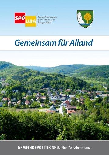 Gemeinsam für Alland 2011/08