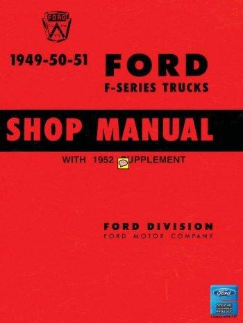 DEMO - 1949-52 Ford Truck Shop Manual - ForelPublishing.com