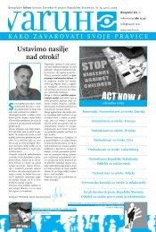(Å¡t. 5, letnik 2005): Ustavimo nasilje nad otroki! (PDF) - Varuh ...