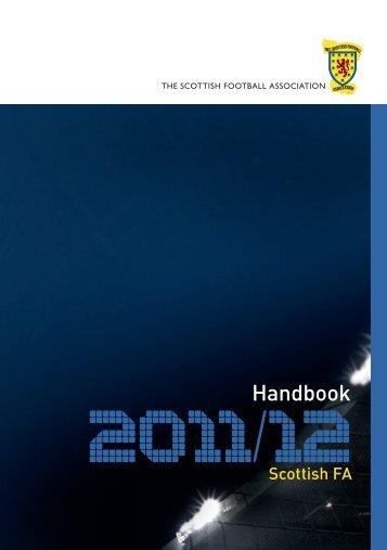 SFA Handbook - Scottish Football Association