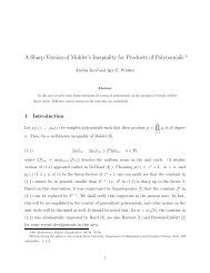 A Sharp Version of Mahler's Inequality for Products of Polynomials