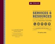 The essential guide to your Information Technology resources