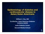 Cardiometabolic Disease in Racial and Ethnic Minorities_Asian ...