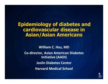 Cardiometabolic Disease in Racial and Ethnic Minorities_Asian ...