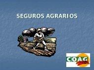 SEGUROS AGRARIOS - Coag