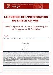 La guerre de l'information du faible au fort - Base de connaissance ...