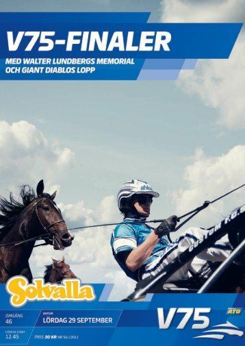 29 september - Solvalla