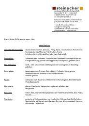 steinacker - gasthaus