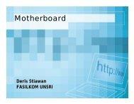 Mengenal Motherboard dan Teknologinya