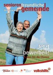 Anmeldeformular zur Seniorenfreundlichen Gemeinde 2012