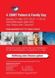 4. EBMT Patient & Family Day