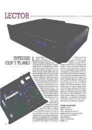 INTÉGRÉ CDP 7'TL MK3 - Lector-audio.com