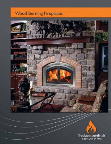 FPX Wood-Burning Fireplaces Brochure - The Firebird