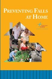 PREVENTING FALLS AT HOME - n4a