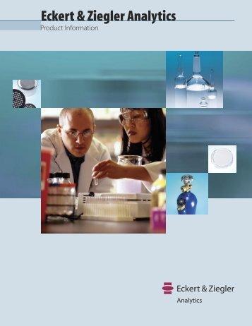 Analytics Product Information - Eckert & Ziegler Strahlen