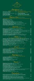 Découvrir la carte des terrasses (pdf) - le cafe de la paix