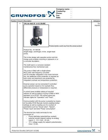 grundfos cu 352 installation and operating instructions
