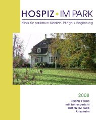 Hospiz Folio 2008 - Hospiz im Park