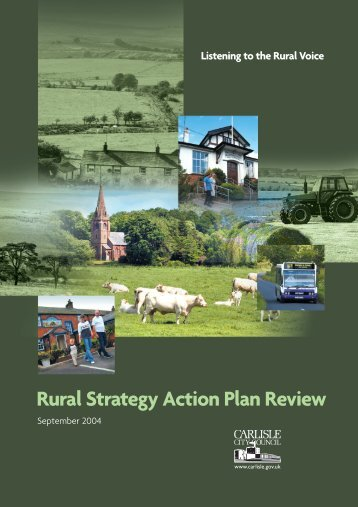 Rural Strategy Action Plan Review - Carlisle City Council