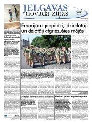 2010. gada jūlijs Nr.7. - Jelgavas rajona padome