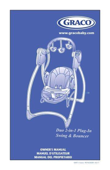 Duo 2-in-1 Plug-In Swing & Bouncer - Graco