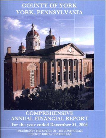 basic financial statements - York County