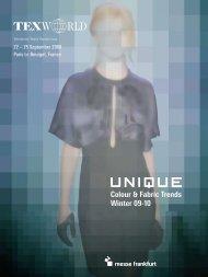Colour & Fabric Trends Winter 09-10 - Europa Regina