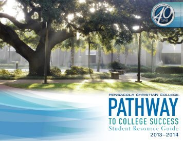 Student Resource Guide - Pensacola Christian College