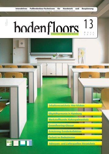 boden-floors   Ausgabe 13/2012 - EstrichTechnik