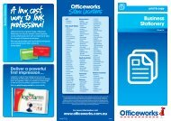 BUSINESS STATIONERY.indd - Officeworks