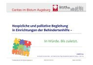 Hospizliche und palliative Begleitung in ... - End-Of-Life-Care
