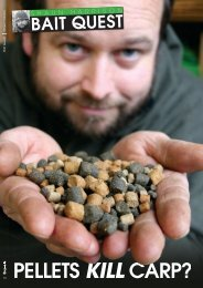 Pellets kill carp? - Quest Baits