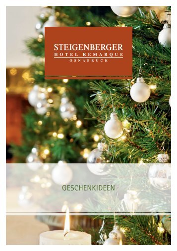 Geschenkideen aus der Enoteca - Steigenberger Hotels and Resorts