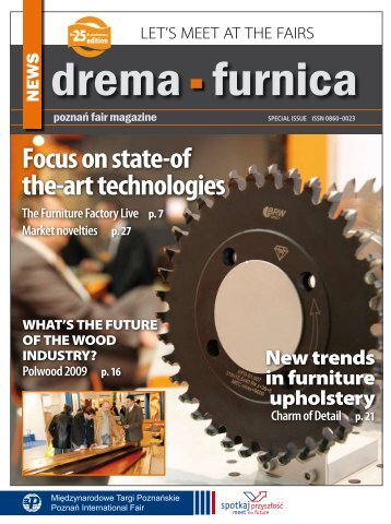 Focus on state-of the-art technologies - Drema 2013