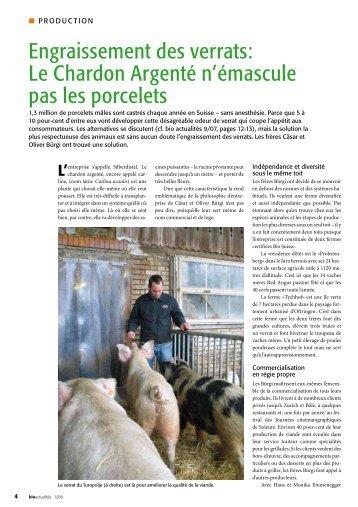 bio actualités 1/08 - Bioactualites.ch