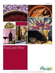Food and Wine - Abruzzo Promozione Turismo