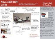 DVR Feature sheet_Oct04.pmd - Teknatool