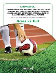 NCAA Soccer Study - Great Sports Infra