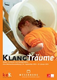Flyer mit Begleitprogramm zum Download (pdf) - Weserburg