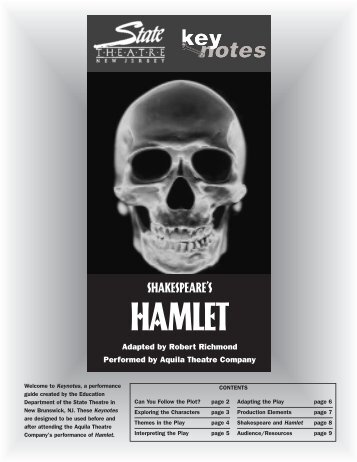 hamlet s psychological state What does hamlets 1st soliloquy reveal about his state of  he's lost a sense of innocence and purity because of his father's  hamlet ponders the fact that.