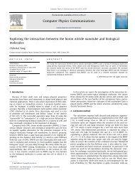 Exploring the interaction between the boron nitride nanotube and ...