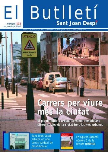 BUTLLETI 172.pdf - Ajuntament de Sant Joan Despí
